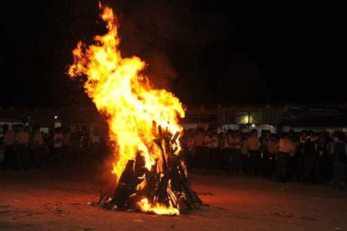 Lirik Video MP3 Lagu Api Unggun Pramuka