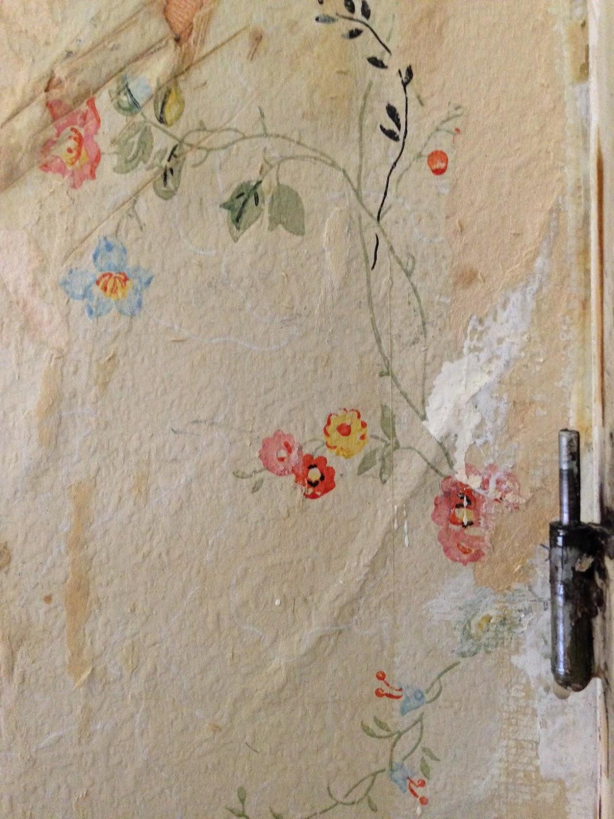 Malin renoverar: gamla tapeter