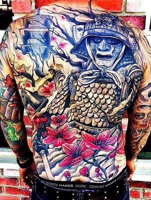 tatuagem de samurai e seus significados