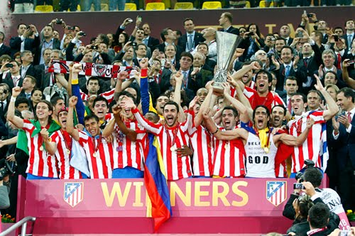 Atlético de Madrid Campeones de Europa League 2012
