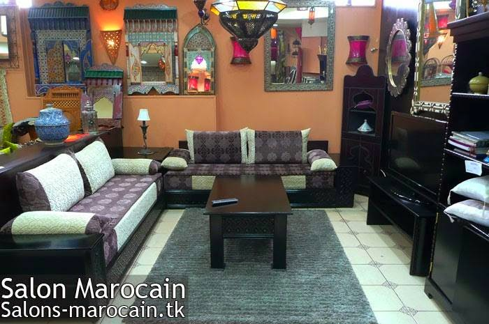 D Coration Salon Marocain Moderne 2015