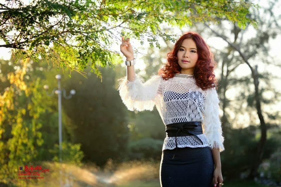 Model Nann Myat PHyo Thinn