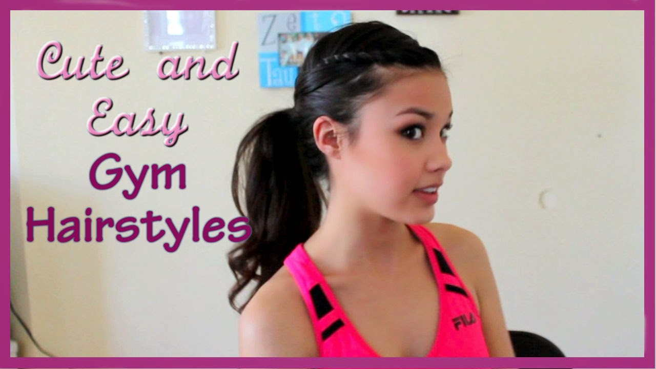 The beauty breakdown gym hairstyles simple fun cute quick easy fast 3