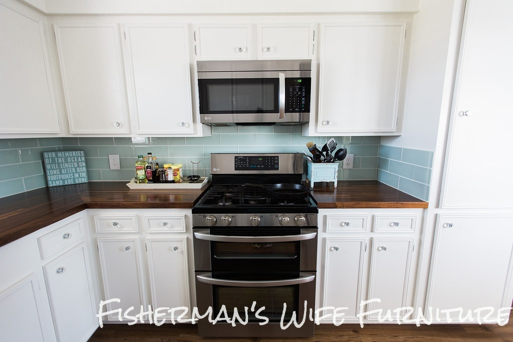 Fishermans Wife Furniture Glass Tile Backsplash