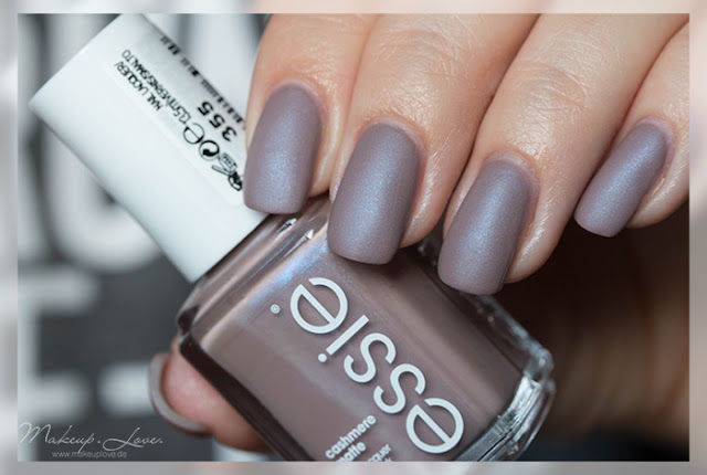 essie cozy in cashmere comfy in cashmere cashmere matte LE 2015 nails summer 2015