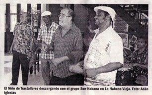 Andy Montañez descargando con Son Habana