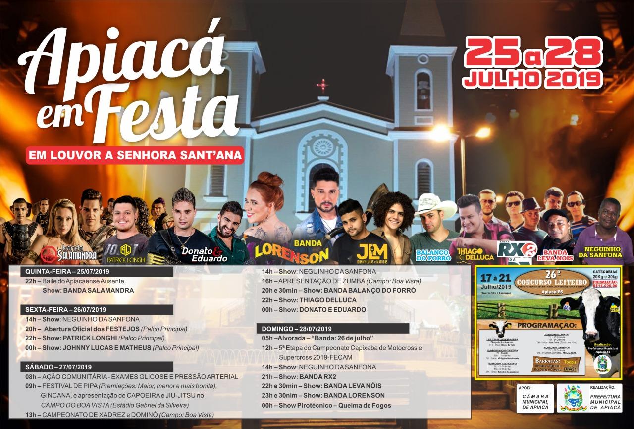 FESTA DE APIACÁ 2019