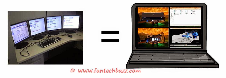 how to create multiple desktops on windows 7