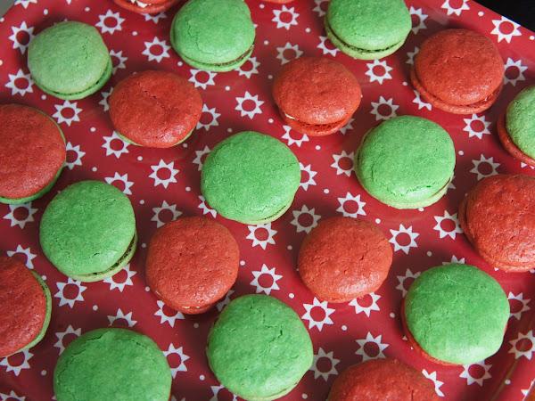 REZEPT: weihnachtliche Macarons