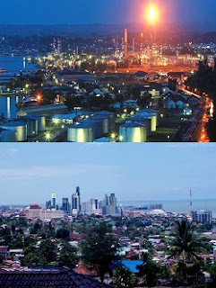 Kilang Minyak dan Kota Balikpapan