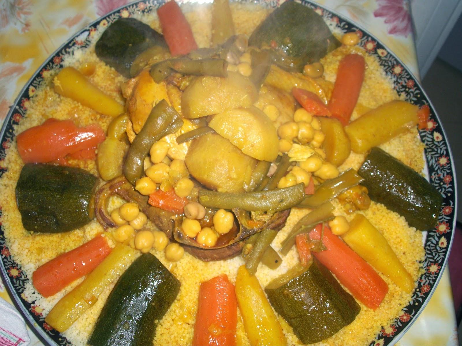 Recette couscous marocain recette couscous couscous royal for Cuisine marocaine