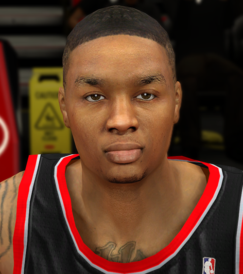 NBA 2K14 Damian Lillard Face Mod