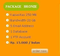 Package Bronze Anekahosting.com ,
