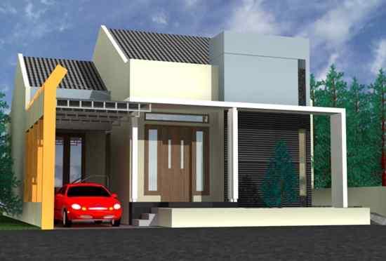 Desain Rumah Minimalis Modern Type 36