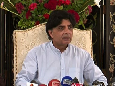 chaudry nisar interior minister
