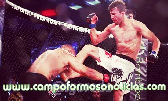 CAMPOFORMOSENSE VENCE LUTA DE MMA NOS EUA