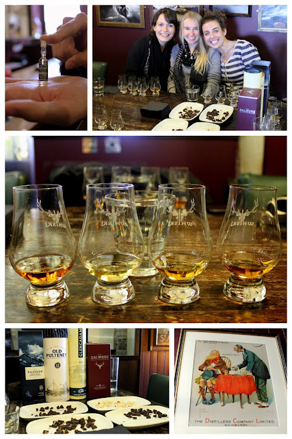 Whisky tasting in Edinburgh