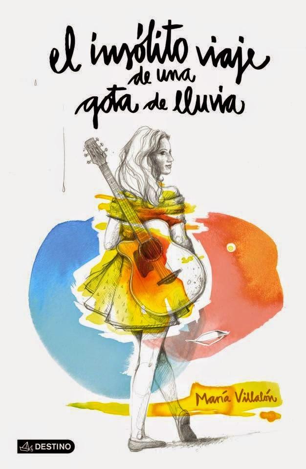 maría villalón, nuevo disco, nuevo libro, el insólito viaje de una gota de lluvia, pop español