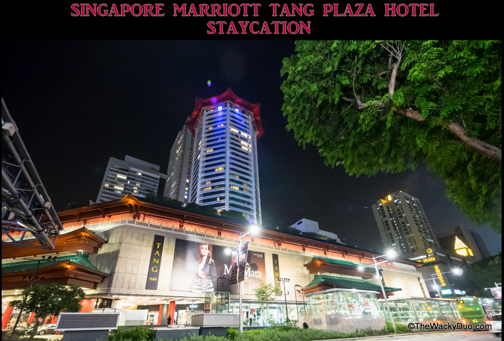 Singapore Marriott Tang Plaza Hotel : Staycation Review   The Wacky Duo   Singapore Family ...