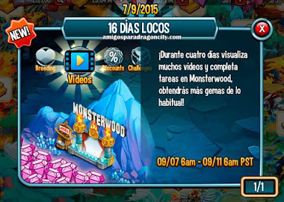 imagen del monsterwood de los 16 dias locos de monster legends