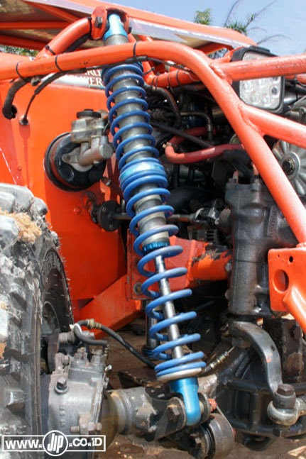 Custom tubular suzuki jimny suspension dosop for Suspension decorative