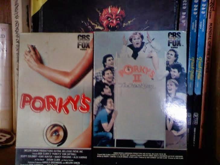 Porky's II VHS tape