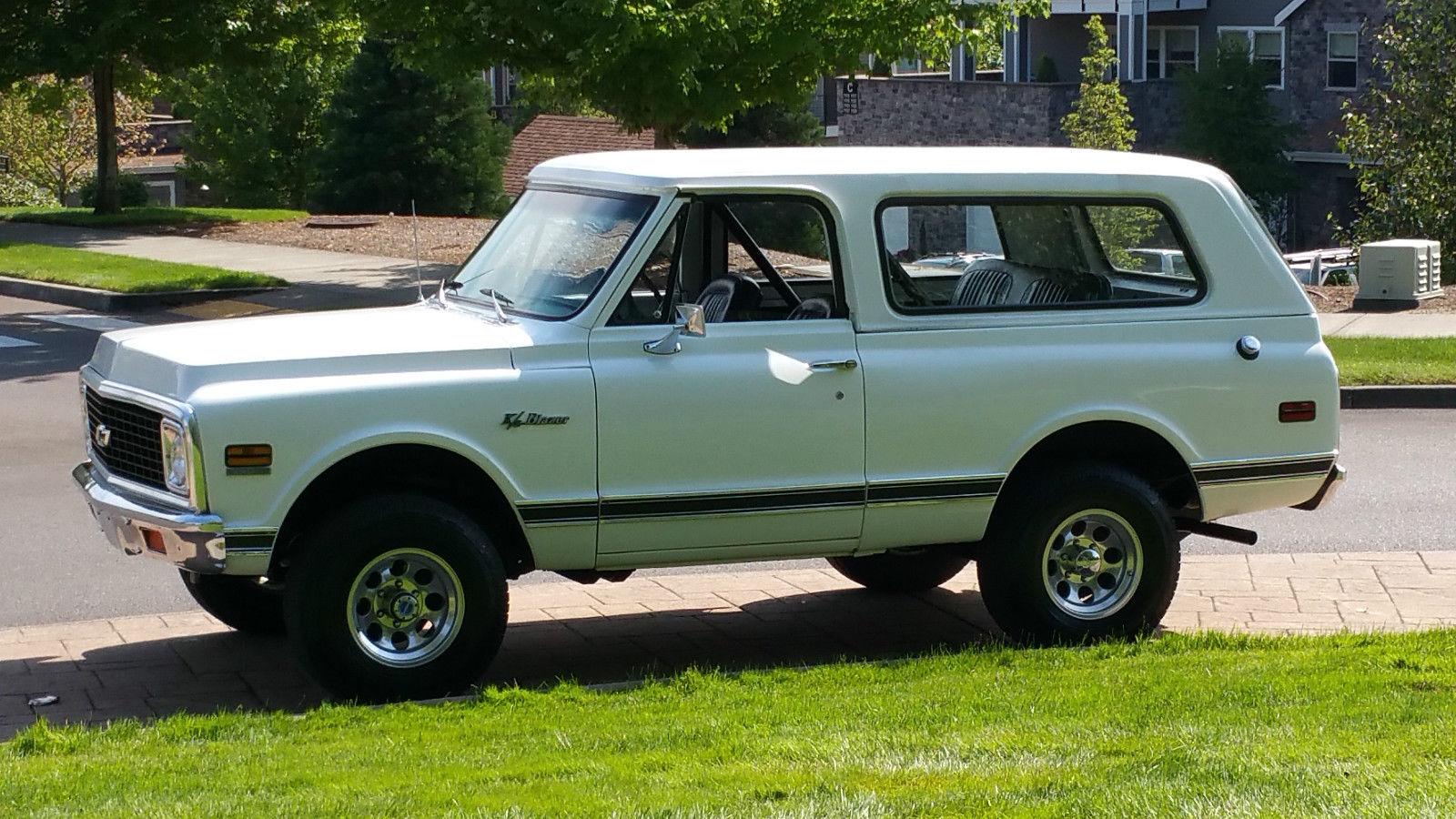 All American Classic Cars: 1971 Chevrolet K5 Blazer 2-Door SUV