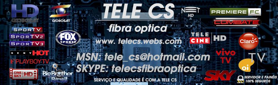TELE CS FIBRA OPTICA  TEMOS QUALIDADE  VENDA DE CARD SHARING