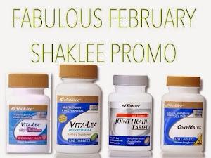 PROMOSI SHAKLEE FEBRUARI 2015