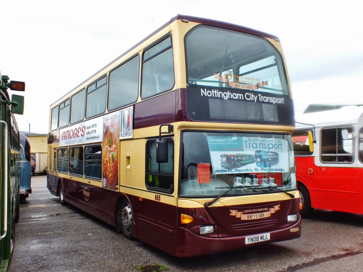 2014 Marked The Centenary Of The West Bridgford Udc Bus Operation In Nottinghamshire The Fleet Surrendered Its Independence To Neighbouring Nottingham In