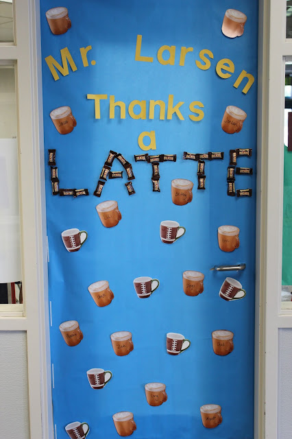 teacher week classroom door