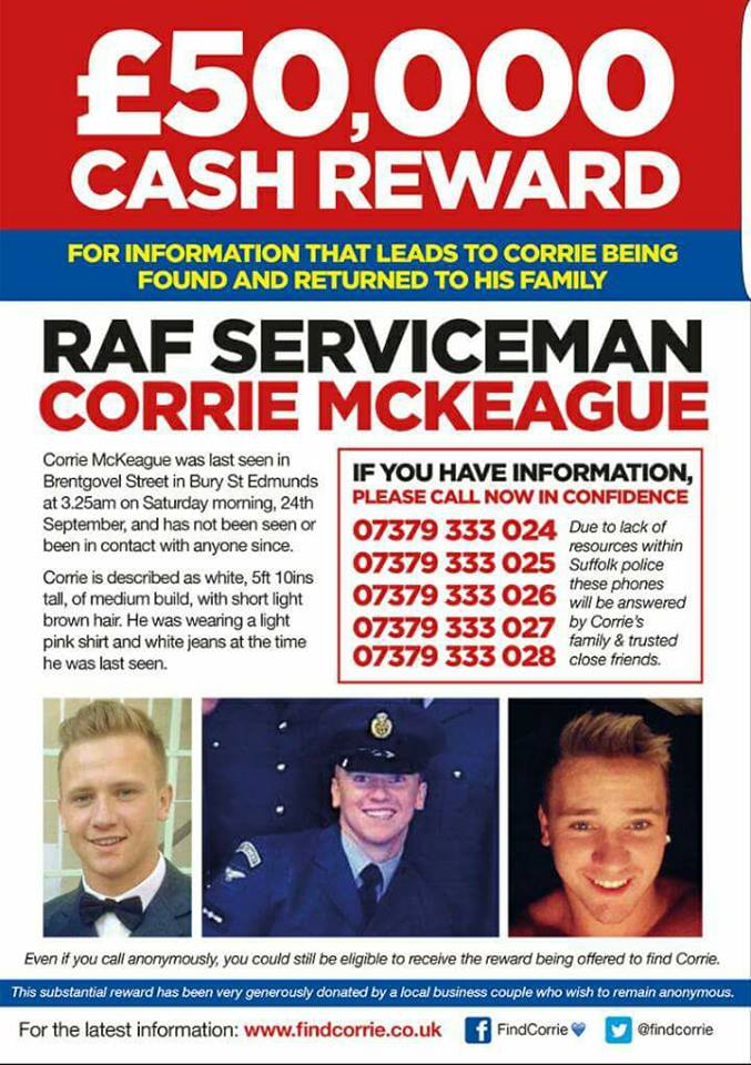Find Corrie MacKeague