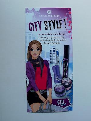 Essence City Style + kosmetyczna oferta Biedronki