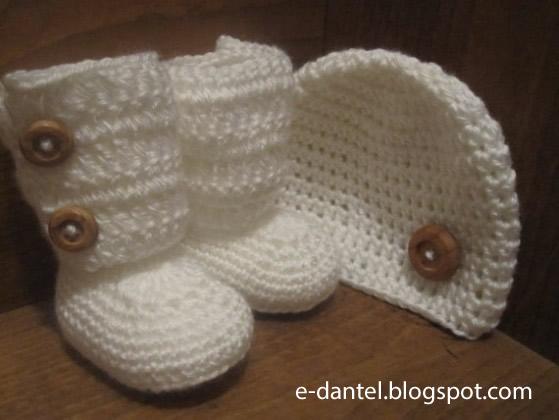 Çizme Şeklinde Bebek Patik Modelleri