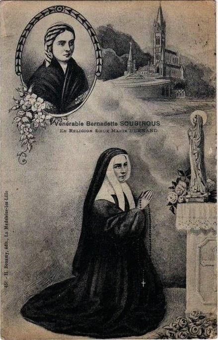 Santa Bernadette Soubirous, rogai por nós!
