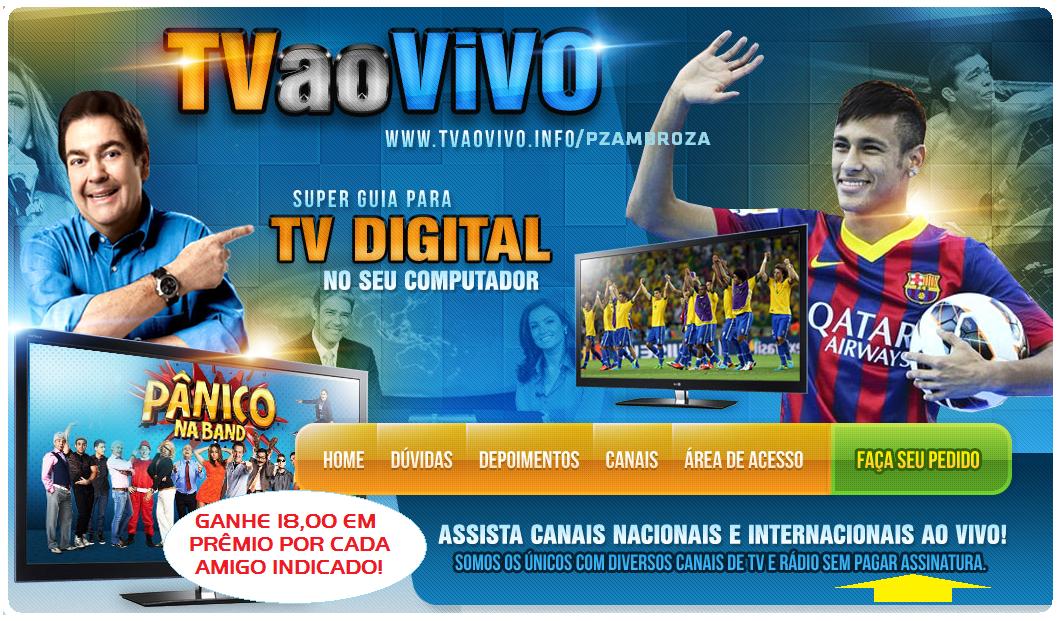 TENHA 700 CANAIS DE TV NO PC, TABLET, LAP, iPONE, CELULAR SEM PAGAR MENSALIDADES