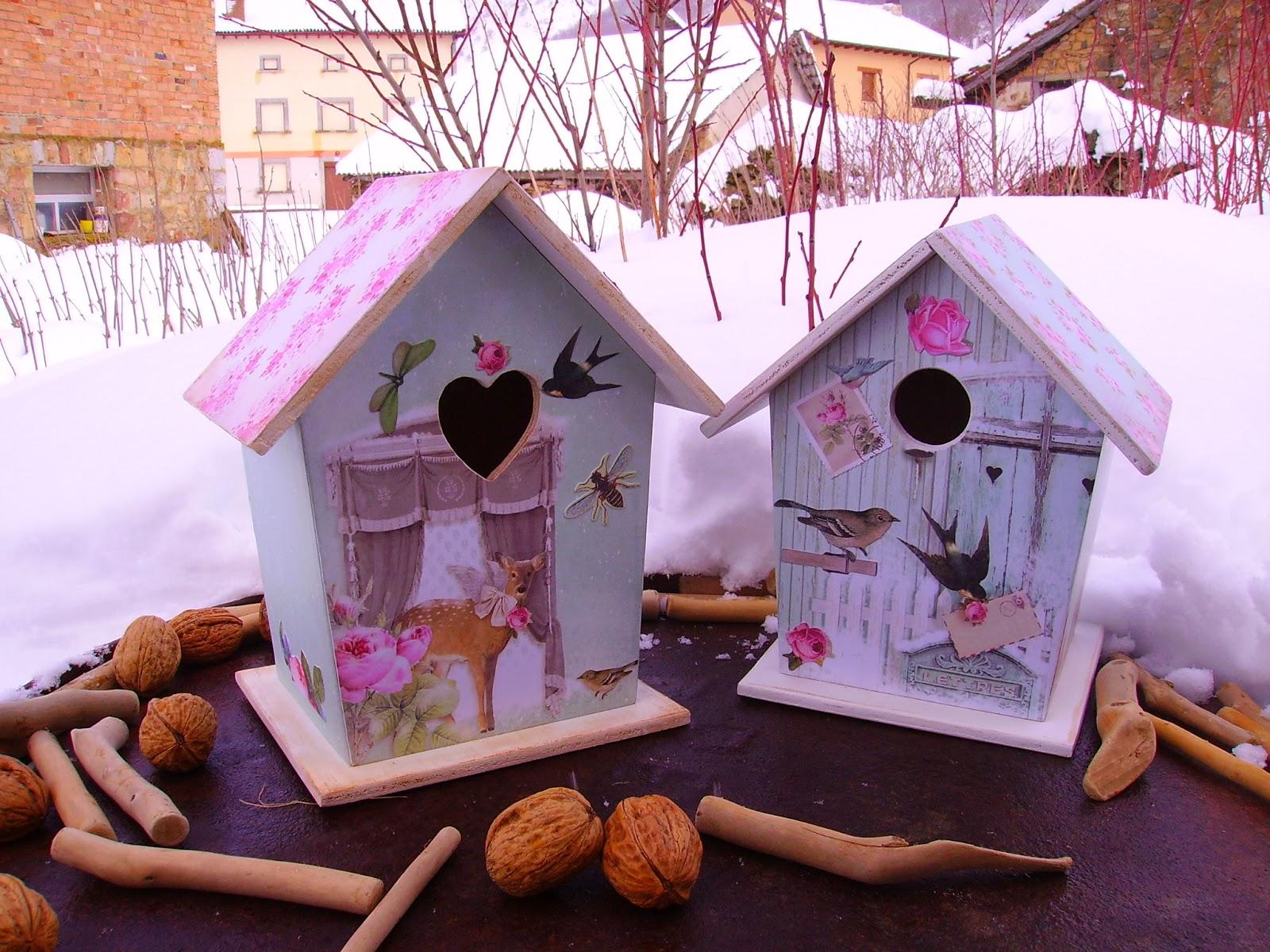 Retazos de madera casitas de pajaros - Casas para pajaros ...