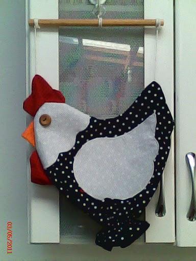 Moldes Para Artesanato em Tecido galinha puxa saco passo a passo