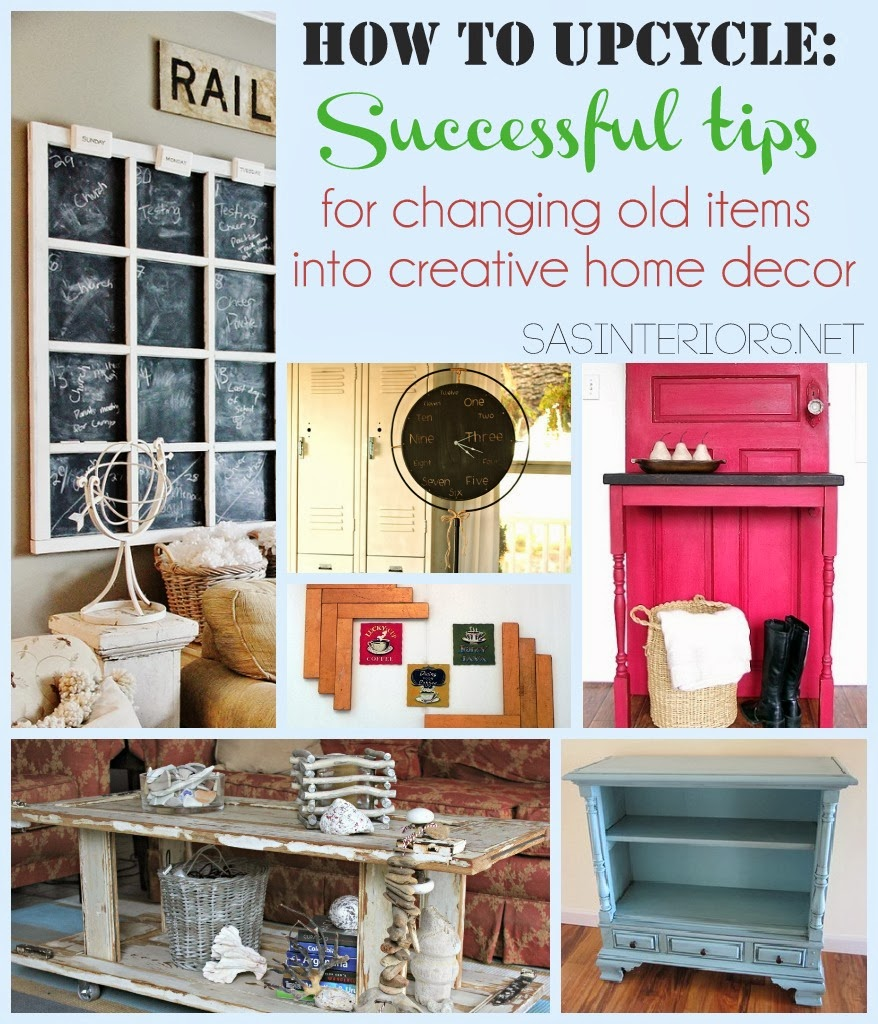 How to upcycle successful tips diy craft projects - Upcycling ideas for the home ...