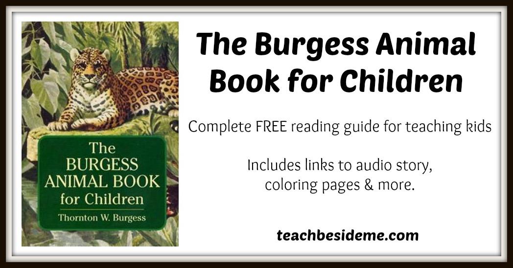 Burgess Animal Guide