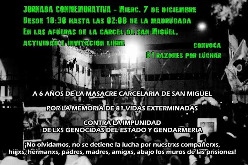 SAN MIGUEL: 81 RAZONES, JORNADA CONMEMORATIVA