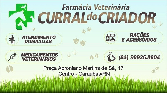 * Nova farmácia veterinária em Caraúbas!!!