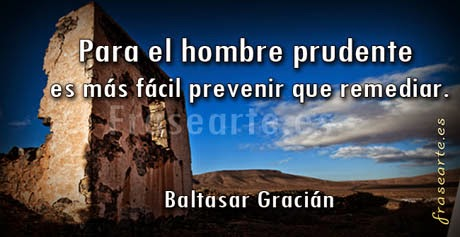 Frases famosas, hombre prudente