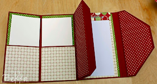 Feeling Crafty Christmas Purse Planner Inside