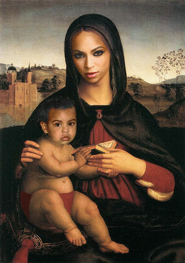 Beyonce Jay-Z fine art