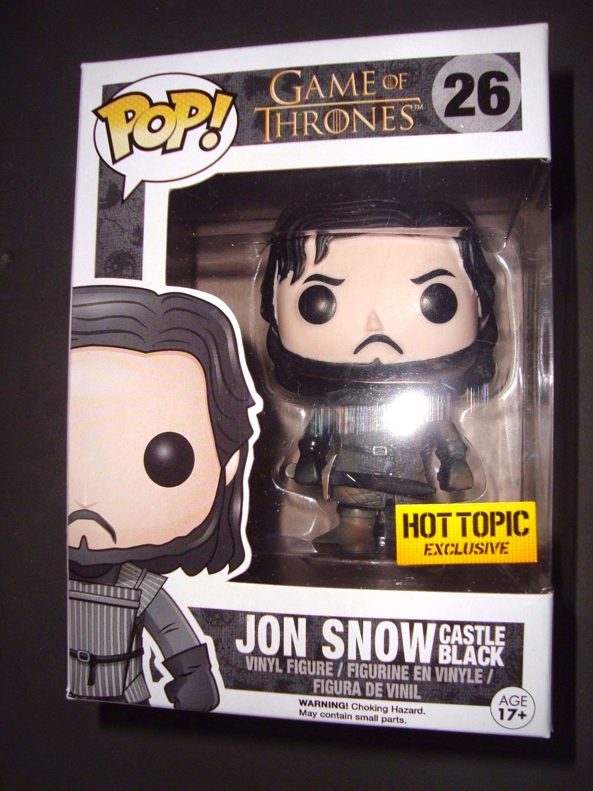 Funko Pop! Muddy Castle Black Jon Snow