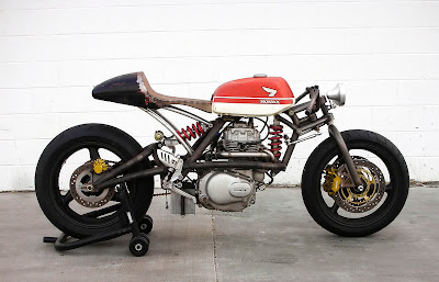 Lockheed Lounge ~ Custom Honda 360 by Jason Tiedeken
