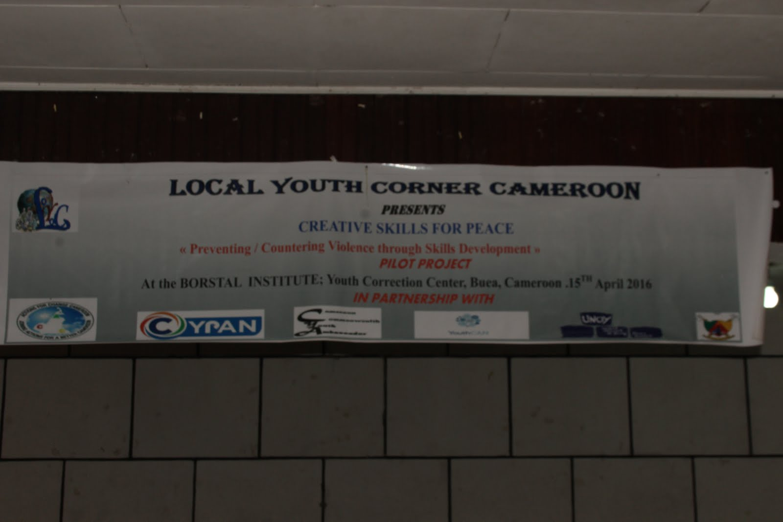 LOCAL YOUTH CORNER CAMEROON