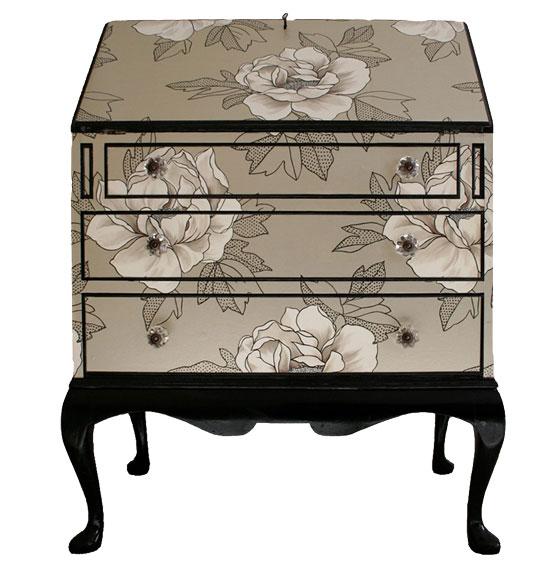 Boutique papel pintado papel pintado tambi n en tus muebles - Papel para empapelar muebles ...