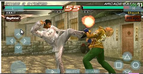 Скачать игру Tekken 6 на PSP